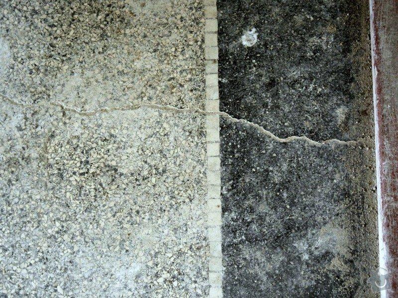 Renovace podlahy - lité teraco a schodiště: te10