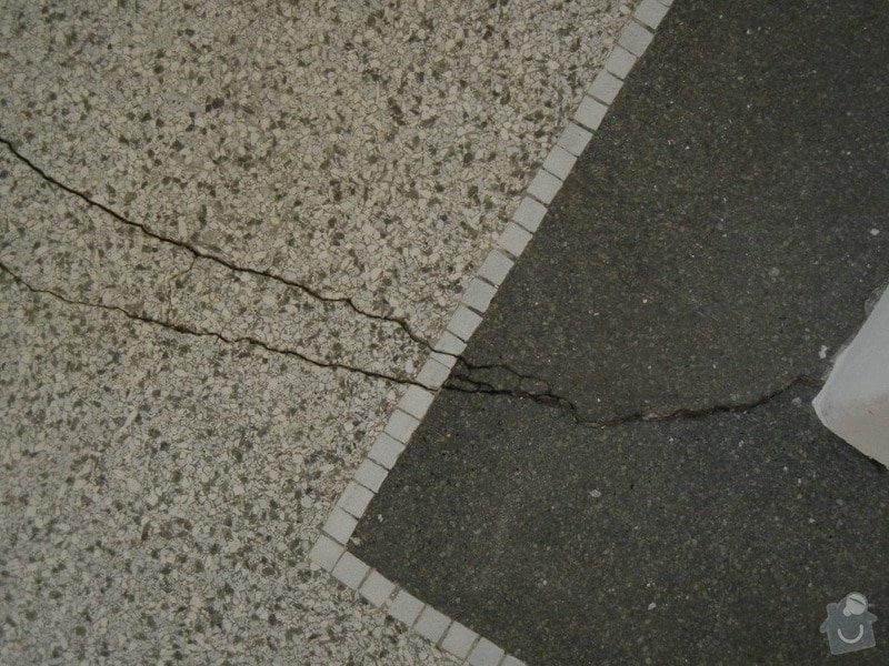 Renovace podlahy - lité teraco a schodiště: te11