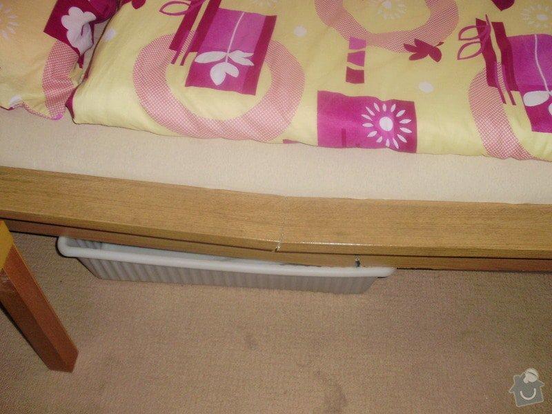 Truhlářské práce (oprava postele): P9080003