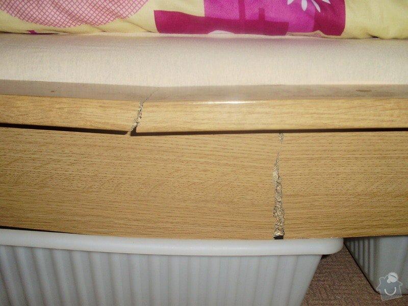 Truhlářské práce (oprava postele): P9080005