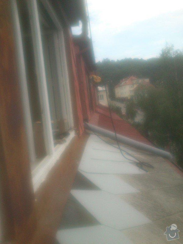 Oprava eternitové střechy : 014