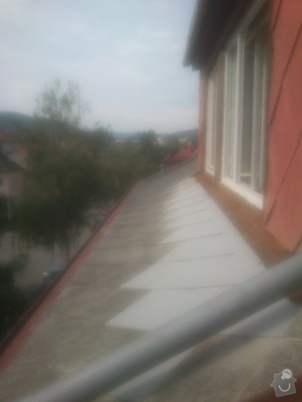 Oprava eternitové střechy : 017