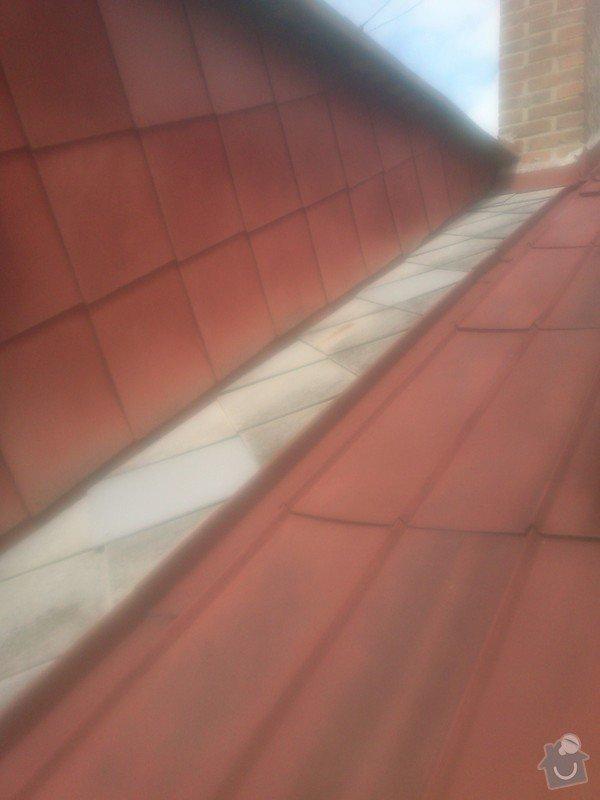 Oprava eternitové střechy : 018