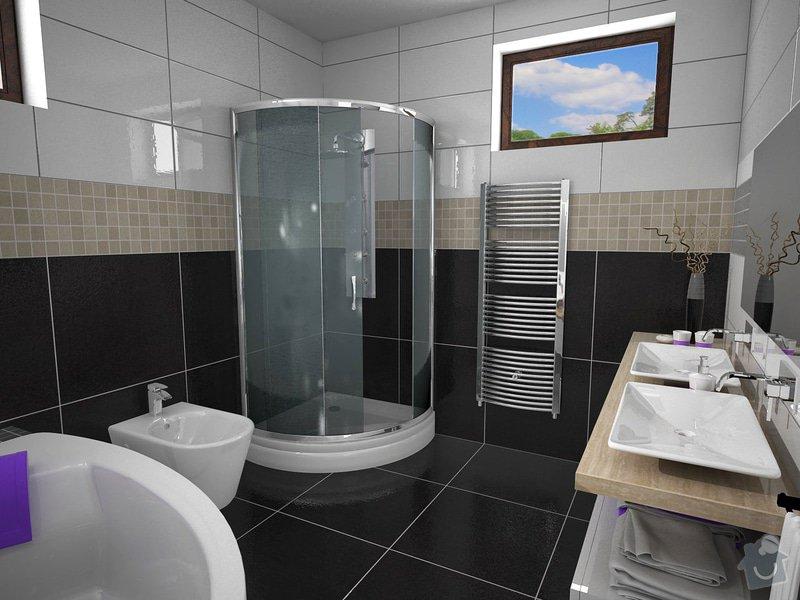 Návrh rekonstrukce koupelny: K2