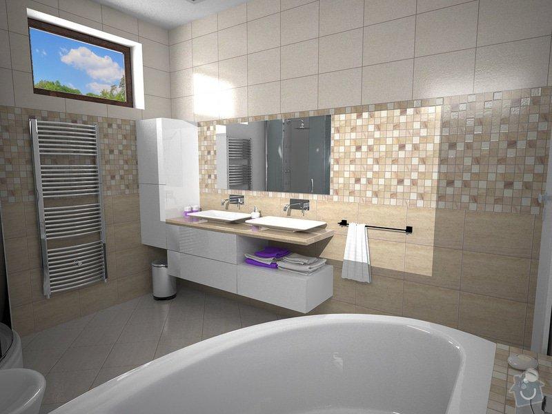 Návrh rekonstrukce koupelny: K4