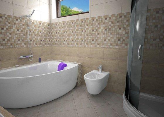 Návrh rekonstrukce koupelny