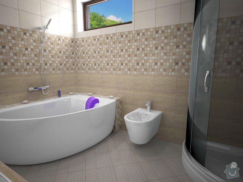 Návrh rekonstrukce koupelny: K5
