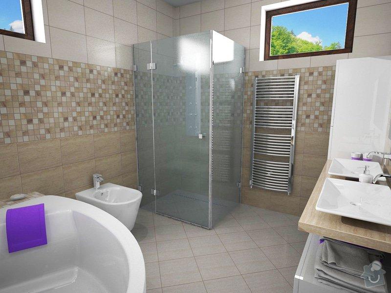 Návrh rekonstrukce koupelny: K7