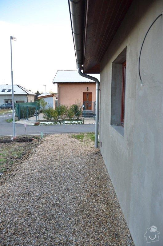 Venkovní dlažba, oplocení pozemku, dokončení fasády: DSC_9877