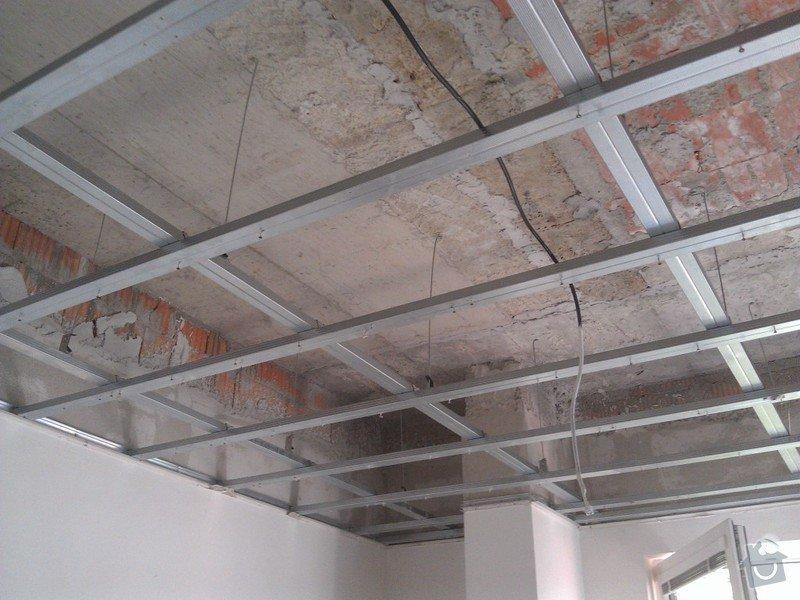 Úprava sádrokartonového podhledu: rekonstrukce_05