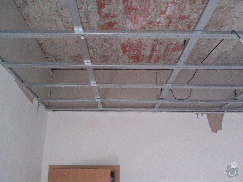 Úprava sádrokartonového podhledu: rekonstrukce_06