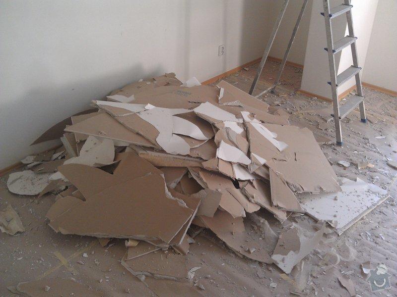 Úprava sádrokartonového podhledu: rekonstrukce_07