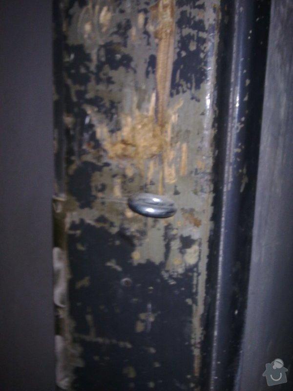Oprava starých dřevěných dveří a futer.: 09092013381
