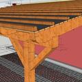 Konstrukce garazoveho stani pristresek stani14x14 rozmery1