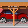 Konstrukce garazoveho stani pristresek stani14x14 5