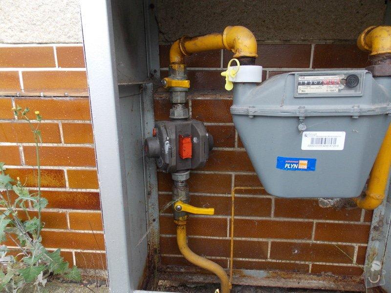 Výměna regulátoru tlaku plynu: plyn