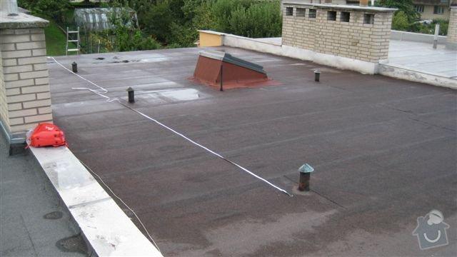 Zateplení ploché střechy: IMG_5716