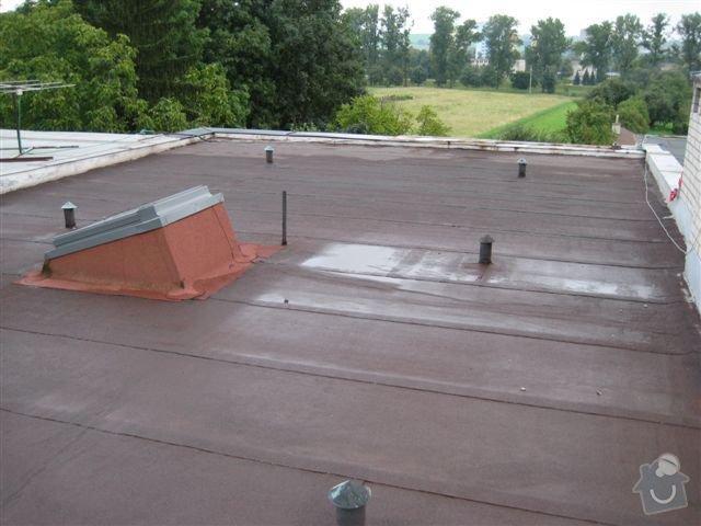 Zateplení ploché střechy: IMG_5711