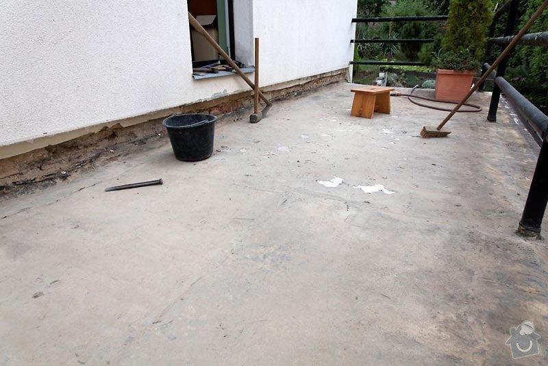 Izolace terasy: 1308-1725-8