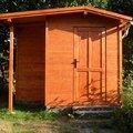 Zahradni domek chata zahrada
