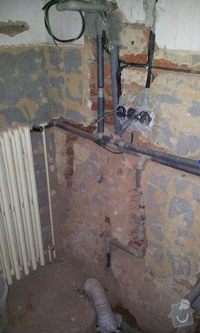 Vodoinstalace koupeln, wc a rozvody topení: aaa