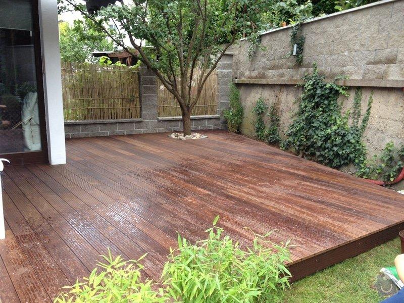 Pokládka dřevěné terasy : IMG_1668