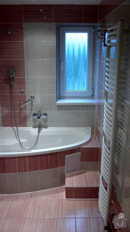 Kompletní rekonstrukce koupelny a toalety: 185-02