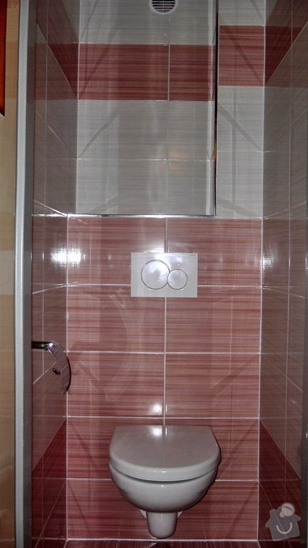 Kompletní rekonstrukce koupelny a toalety: 185-05