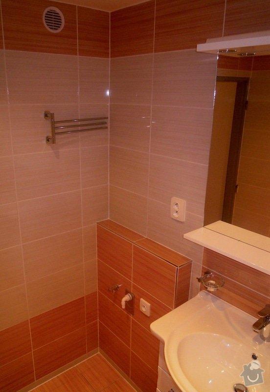 Kompletní rekonstrukce koupelny a toalety: 185-07