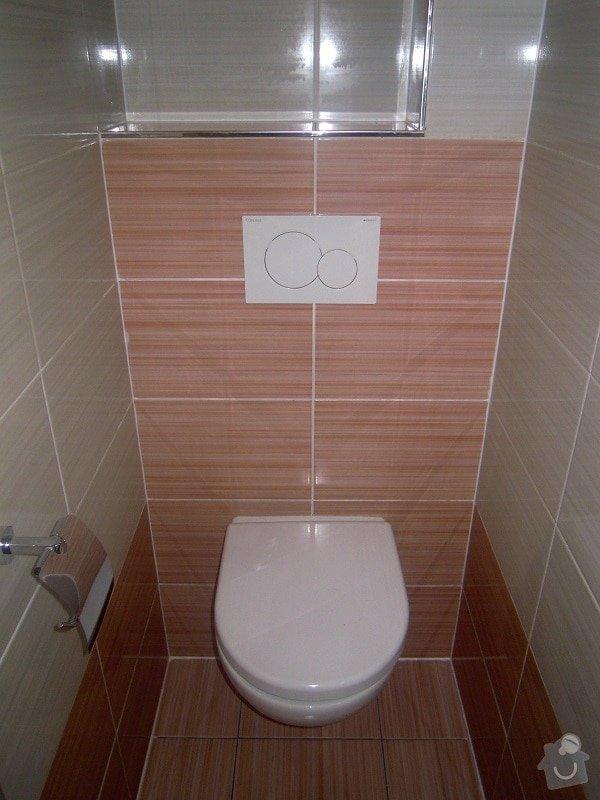 Kompletní rekonstrukce koupelny a toalety: 185-08