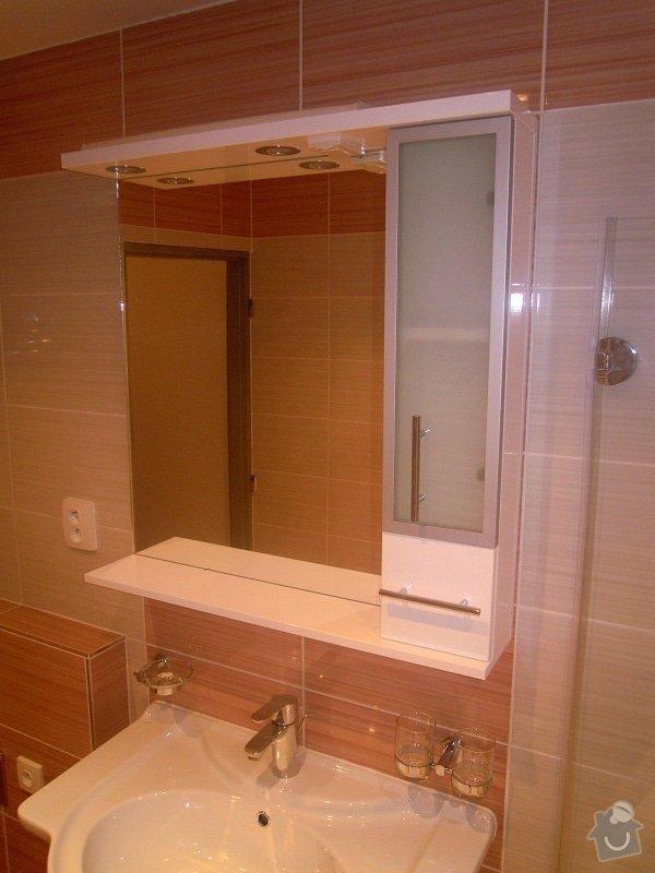 Kompletní rekonstrukce koupelny a toalety: 185-09