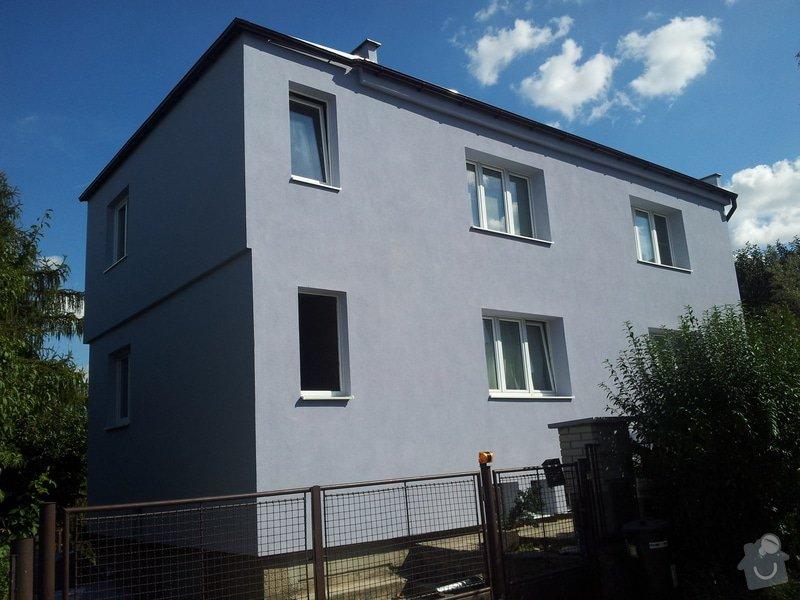 Zateplení fasády Praha 5 - Stodůlky: 20130914_141703
