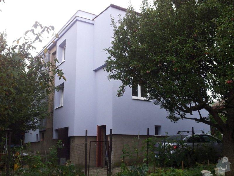 Zateplení fasády Praha 5 - Stodůlky: 20130913_140542
