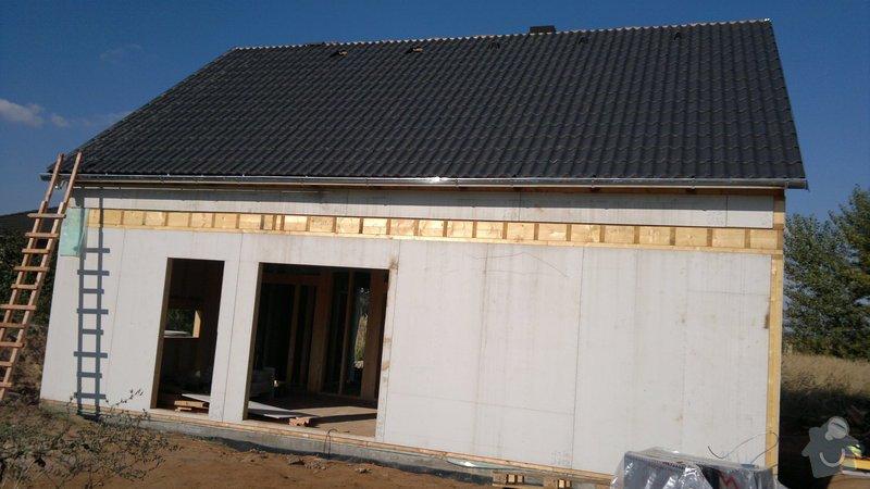 Výstavba dřevostavby: 2013-09-05-746