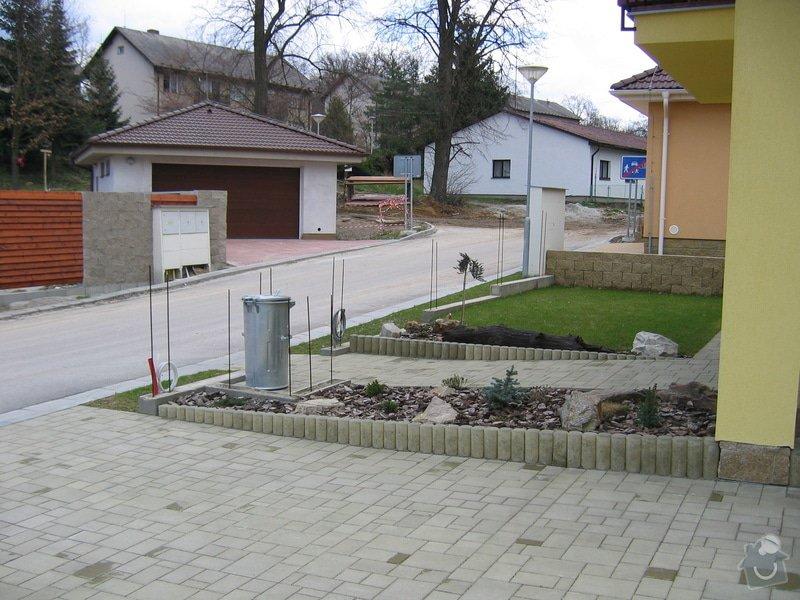 Zděný plot: 0015