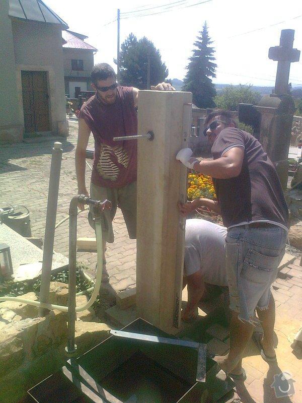 Rekonstrukce hřbitovní zdi: Fotografie3349