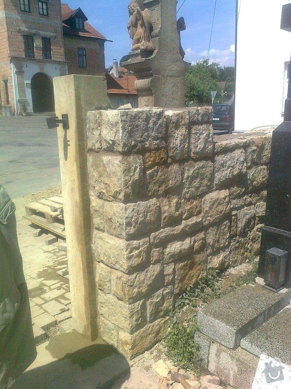 Rekonstrukce hřbitovní zdi: Fotografie3370