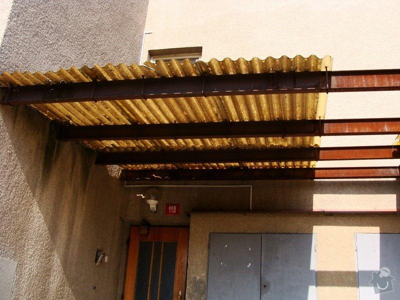 Oprava venkovní stříšky (cca 5x4m): DSC02543