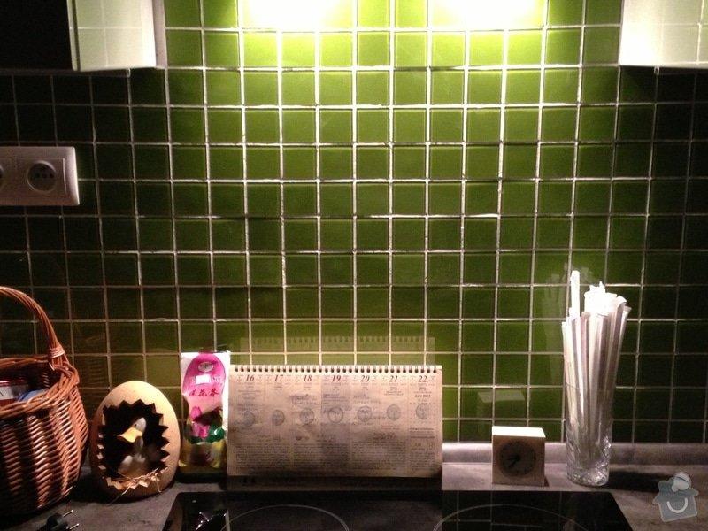 Obklad z kachliček v kuchyni: obrazek