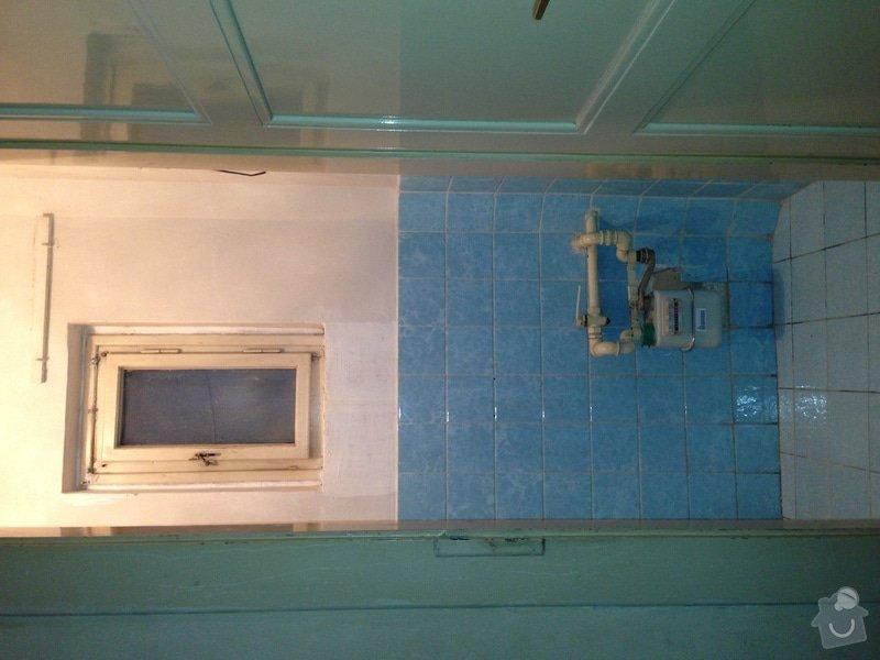 Rekonstrukce topení a plynu, byt 3+kk, 94m²: plynomer