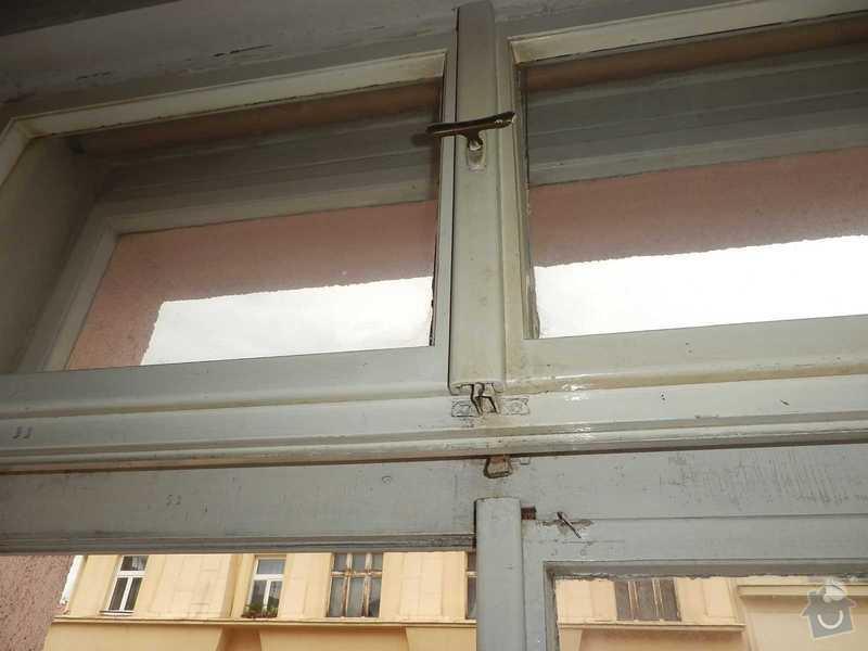 Lakovani oken a dveri, vymalovani bytu: okno-3