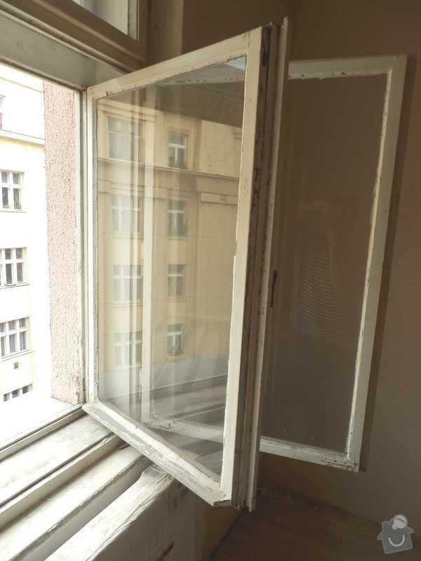 Lakovani oken a dveri, vymalovani bytu: okno-5