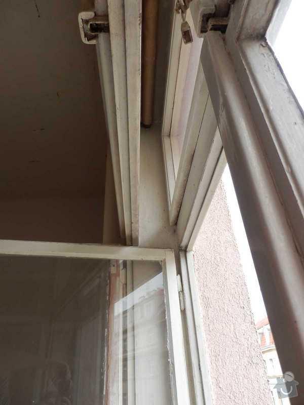 Lakovani oken a dveri, vymalovani bytu: okno-6
