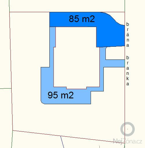 Dodání a realizace zámkové dlažby 180m2.: dlazba