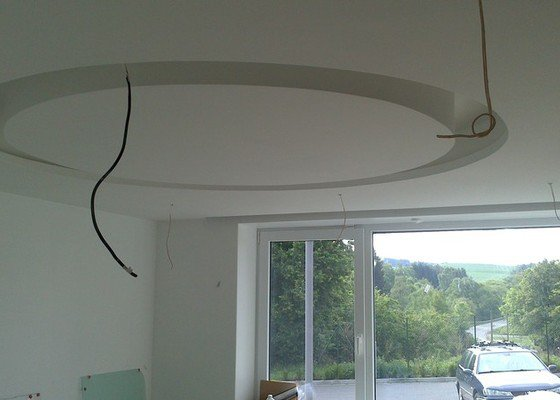 Realizace sádrokartonových stropů