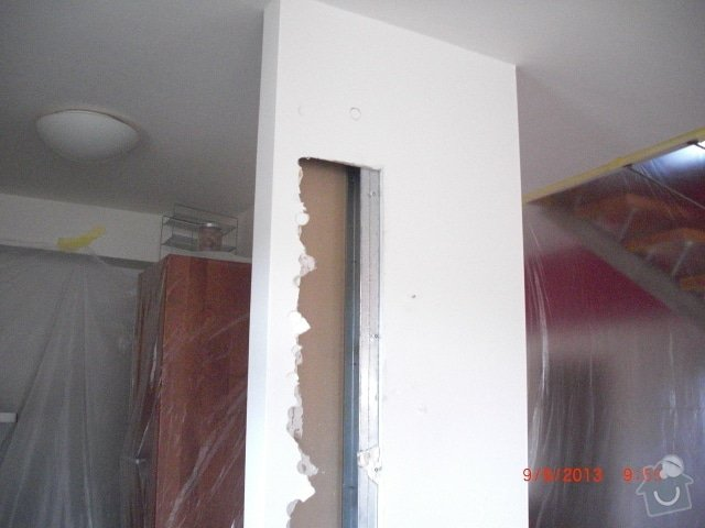 Sadrokartonova pricka - zbourani a stavba nove: cimg1263_kopie_