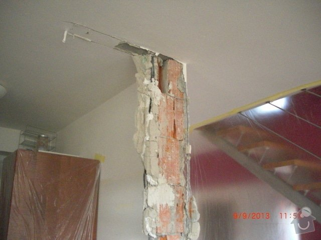 Sadrokartonova pricka - zbourani a stavba nove: cimg1266_kopie_