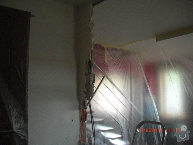 Sadrokartonova pricka - zbourani a stavba nove: cimg1267_kopie_