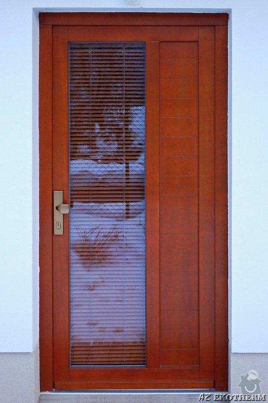 Dřevěné vchodové dveře pro RD: drevene_dvere