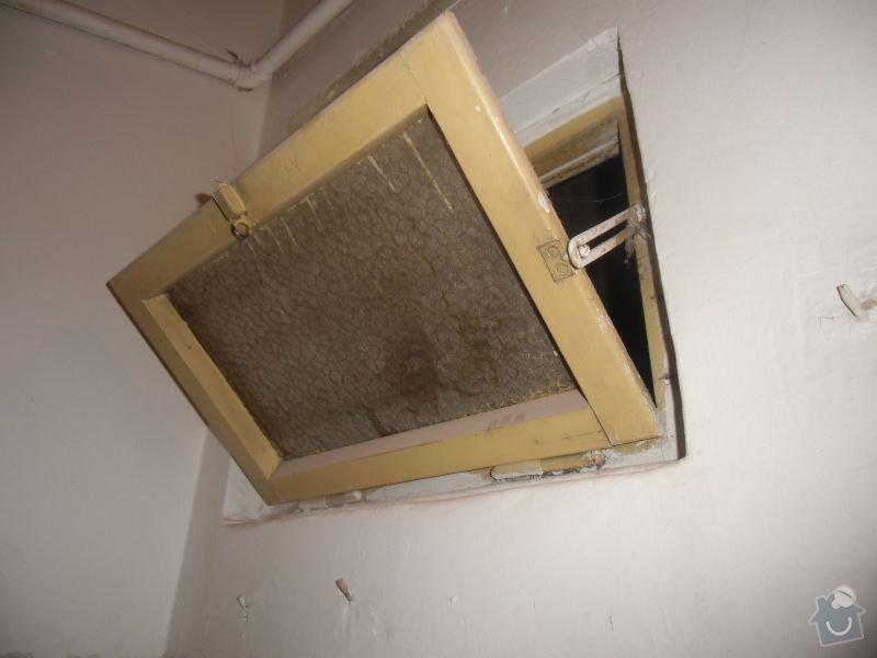 Lakování dveří + futer, lakování oken: okno1